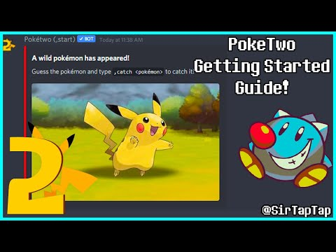 PokeTwo Get Started Guide | Discord Pokemon Game Bot