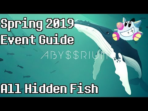 Tap Tap Fish - AbyssRium Spring Tea Party Event 2019: All Hidden Fish Guide