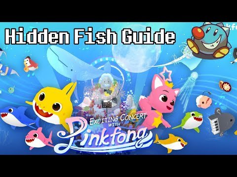 Tap Tap Fish AbyssRium Pinkfong Baby Shark Event Guide   All Hidden Fish