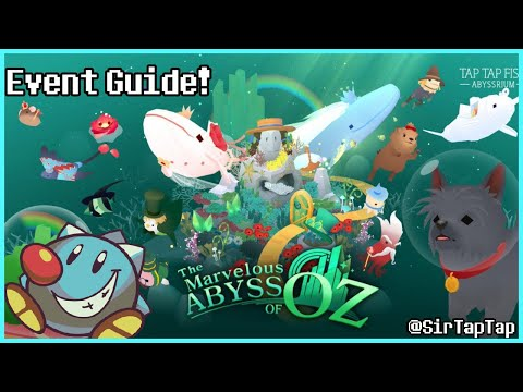 Tap Tap Fish AbyssRium | Marvelous Abyss of Oz Event All Hidden Fish Guide