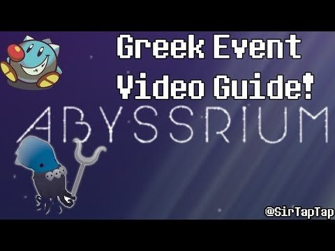 Tap Tap Fish AbyssRium | Greek Mythology Event Guide All Hidden Fish!