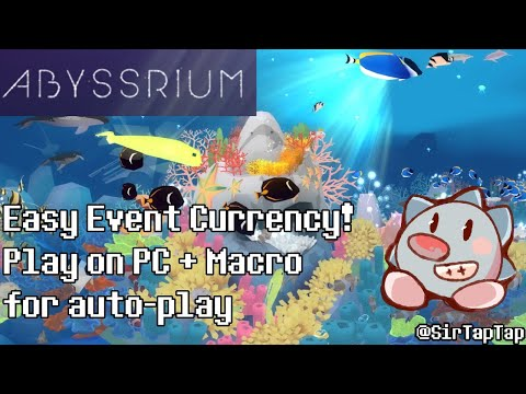 Tap Tap Fish AbyssRium Guide | Automatically get Event Currency & Play on PC! Nox Player & Macros