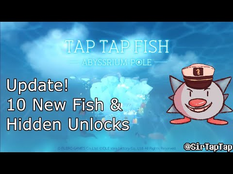 (Outdated) Tap Tap Fish AbyssRium Pole | Update & Hidden Creatures 37-46 Guide